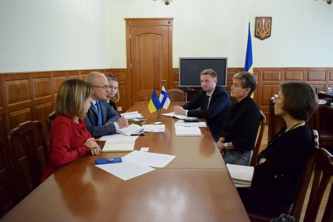 Співпраця України та Фінляндії на енергетичному ринку