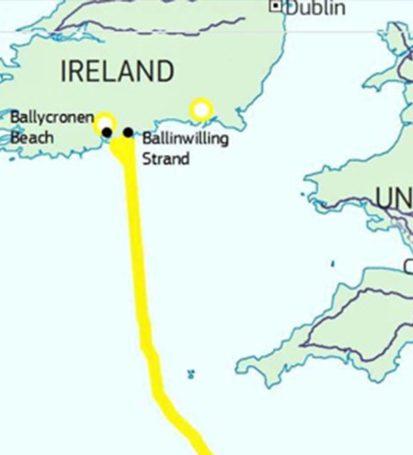 Поєднання енергомереж Франції та Ірландії